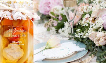 CADEAU DE MARIAGE FOOD&GREEN:  LA GIARDINIERA DI MORGAN SI VESTE A NOZZE
