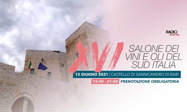 XVI SALONE DEI VINI E DEGLI OLI:  L'ECCELLENZA DEL SUD ITALIA IN SCENA A SANNICANDRO DI BARI