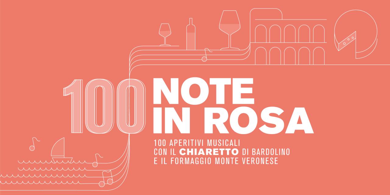 IL CHIARETTO DI BARDOLINO SFATA IL MITO DEL VINO ESTIVO: 100 NOTE IN ROSA PROSEGUE ANCHE IN AUTUNNO
